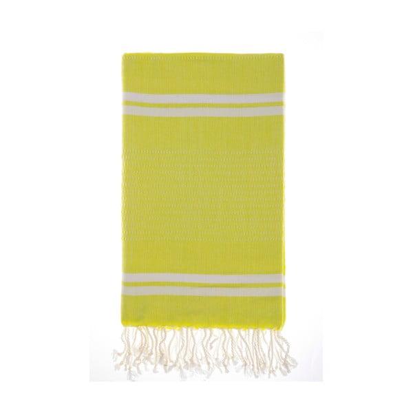 Ręcznik hammam Bodrum Lemon, 100x180 cm