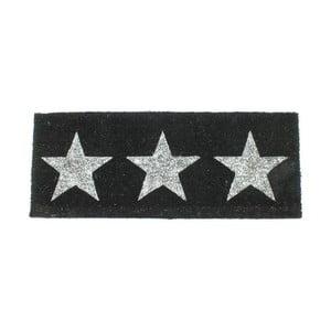 Wycieraczka With Silver Star, 40x100 cm