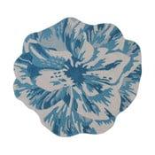 Wełniany dywan Juniper Blue, 90 cm