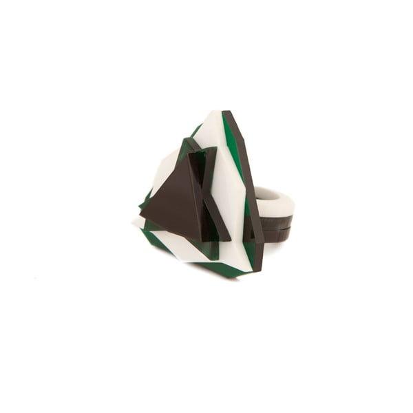 Pierścionek Baguera Vectory Trilliant GWB, 1.8 cm