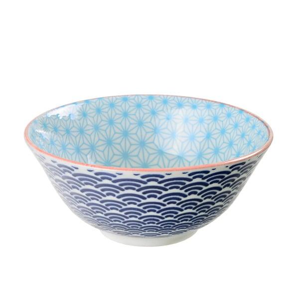 Porcelanowa miska Star Blue, 15 cm