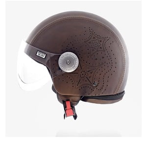 Kask Leather Laser Brown, S