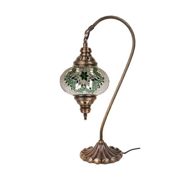 Szklana lampa Fishing XV, 17 cm
