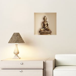 Naklejka 3D Fanastick Buddha Statue