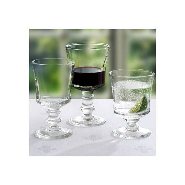 Zestaw 6 kieliszków do wina Jacques, 240 ml