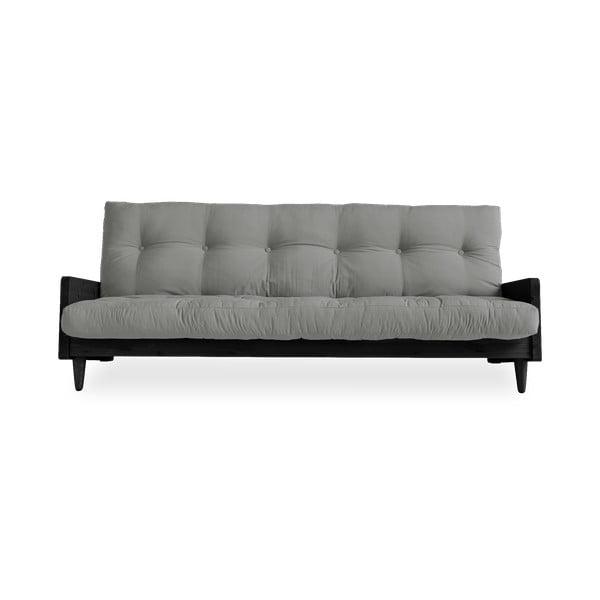 Sofa rozkładana Karup Design Indie Black/Grey