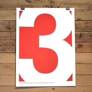 Plakat Three Quote, 61x46 cm
