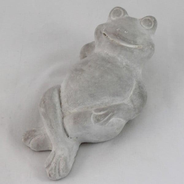 Betonowa dekoracja Leżąca żaba