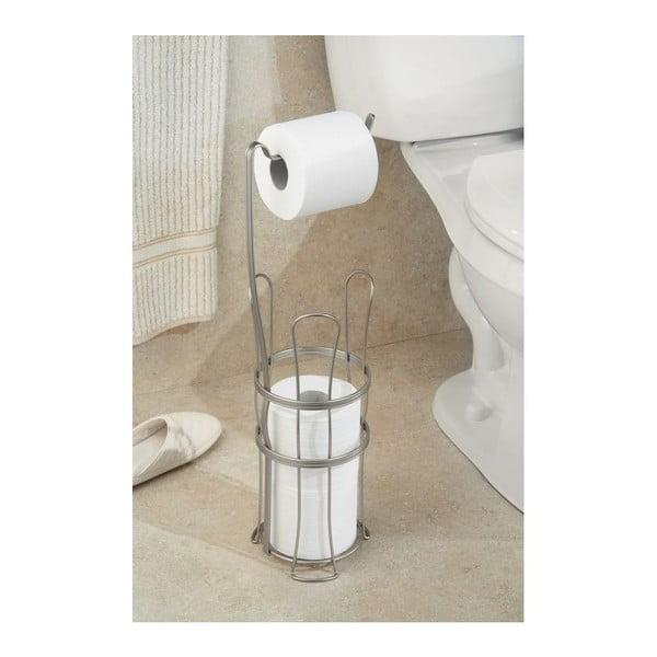Uchwyt na papier toaletowy ze schowkiem York Lyra