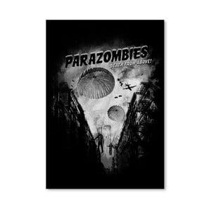 Plakat Parazombies, 30x42 cm