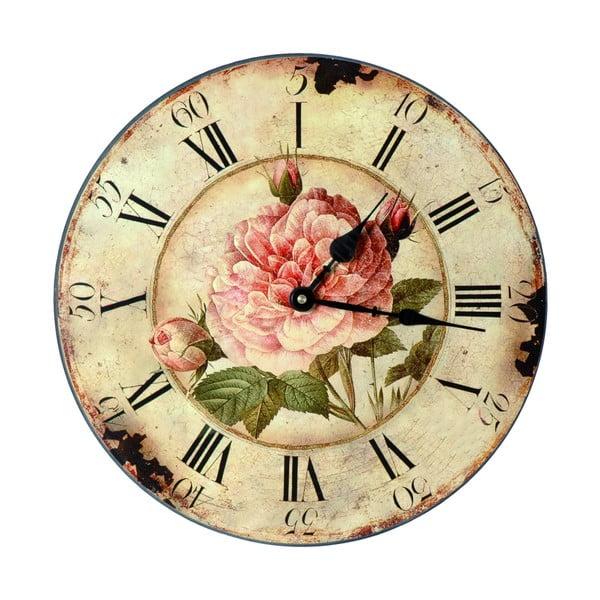 Zegar Roses, 33 cm