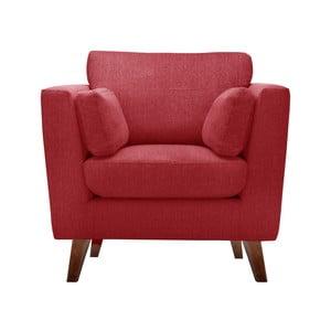 Czerwony fotel Jalouse Maison Elisa