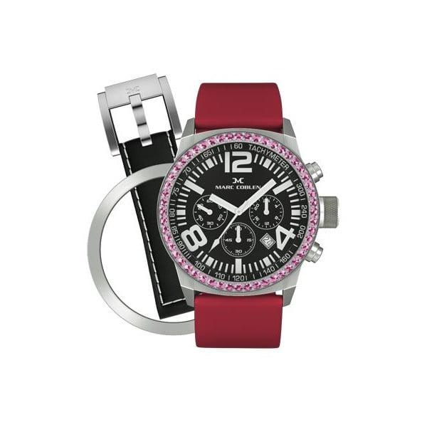 Zegarek damski Marc Coblen z dodatkowym paskiem i obręczą P3