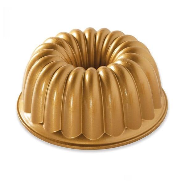 Forma na babkę w złotym kolorze Nordic Ware Elegant Party, 2,3 l