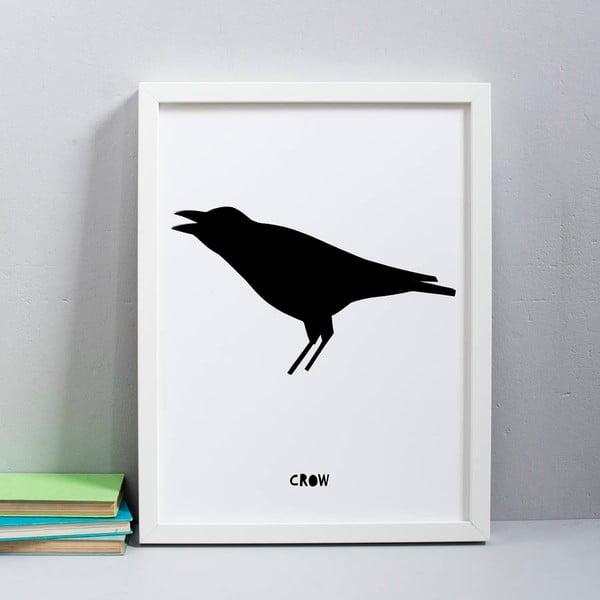 Plakat Karin Åkesson Design Crow, 30x40 cm