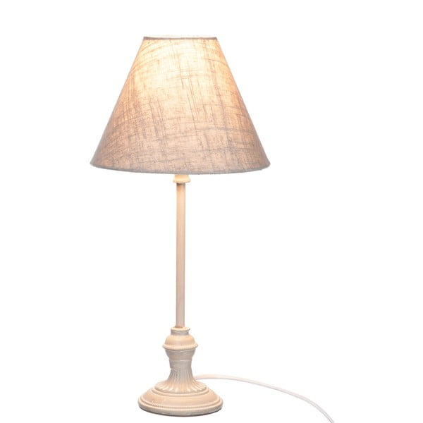 Lampa stołowa Jolipa 40 cm, szara