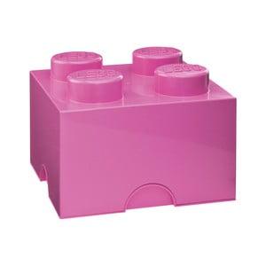 Różowy pojemnik kwadratowy LEGO®