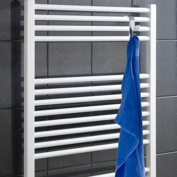 Komplet 2 haczyków na ręczniki Radiator, chromowe