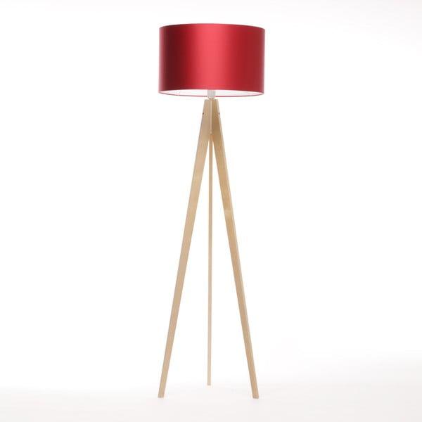 Lampa stojąca Artista Birch/Red, 125x42 cm
