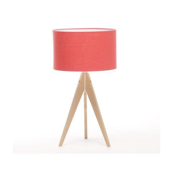 Lampa stołowa Artist Coral Red/Natural