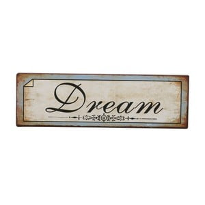 Tablica Dream, 31x10 cm