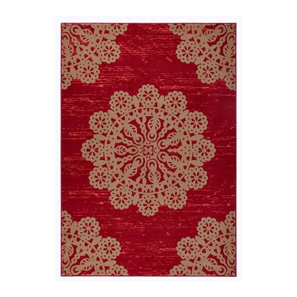 Czerwony dywan Hanse Home Gloria Lace, 80x150 cm