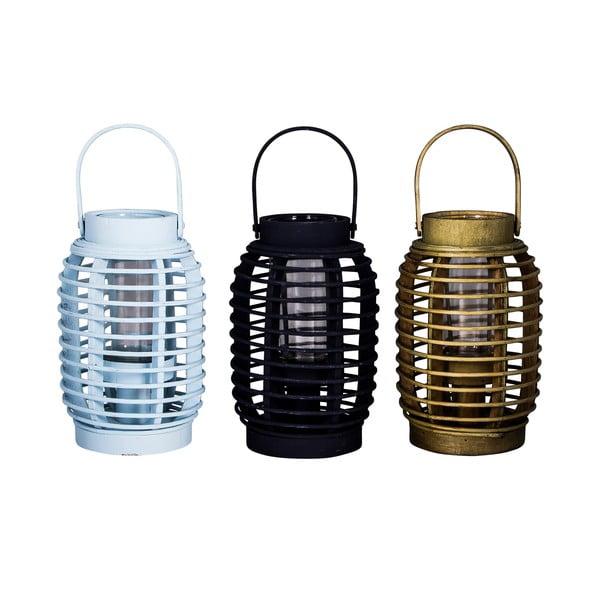 Zestaw 3 bambusowych latarni Nature