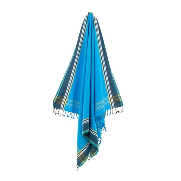 Ręcznik/pareo Ashan Blue, 100x178 cm