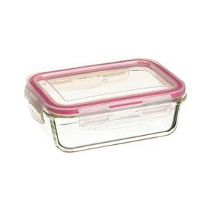 Szklany pojemnik śniadaniowy z przykrywką Unimasa, 16,5x11,7cm