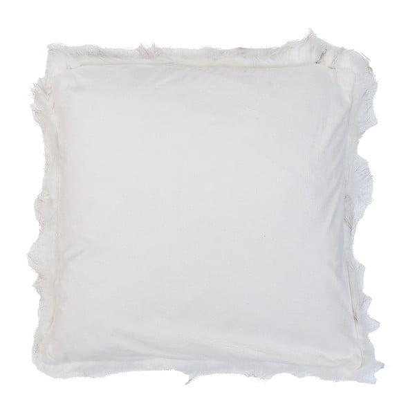 Biała poszewka na poduszkę Clayre Fur