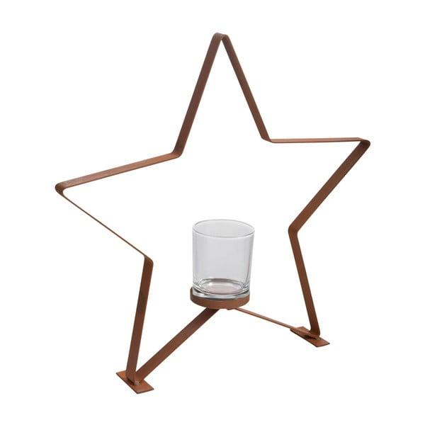 Świecznik J-Line Star Metal L