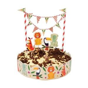 Zestaw do dekoracji tortów Rex London Colourful Creatures