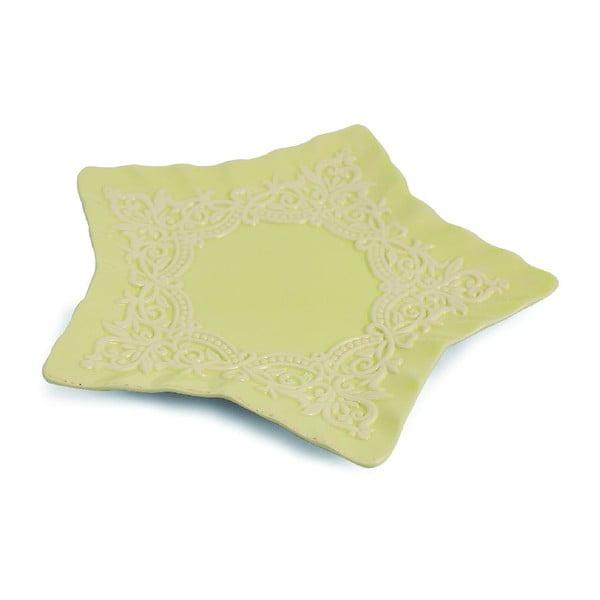 Talerz Praline Star Ivory, 24 cm