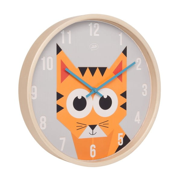 Zegar ścienny Geo Tiger, 30 cm