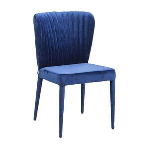 Niebieskie krzesło Kare Design Cosmos