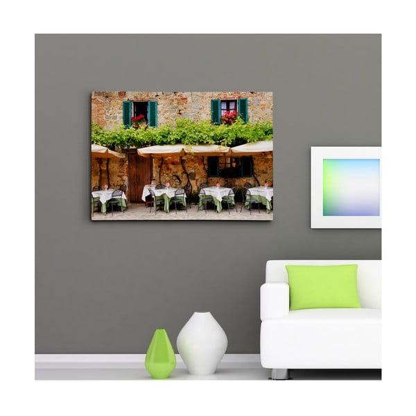 """Obraz na płótnie """"Kawiarnia"""", 50x70 cm"""