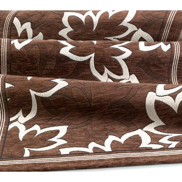 Wytrzymały dywan kuchenny Webtapetti Maple Marrone, 55x190 cm