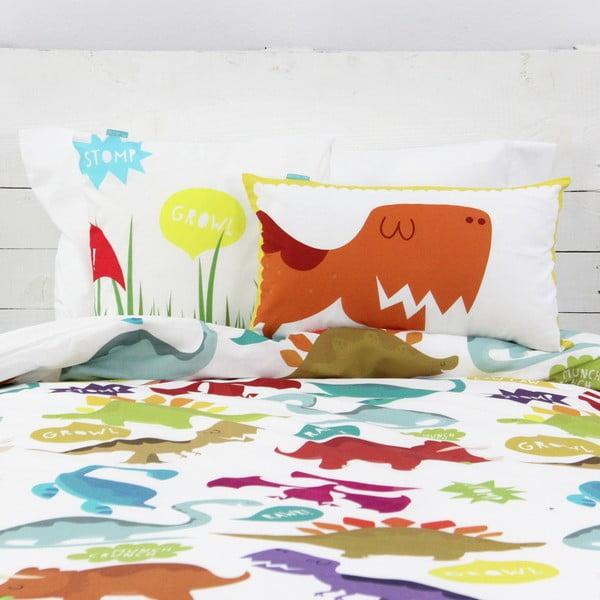 Poszewka na poduszkę Dinosaur, 50x30 cm