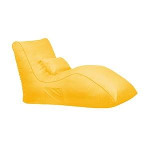 Żółty worek do siedzenia Sit and Chill Palawan Chaise Longue