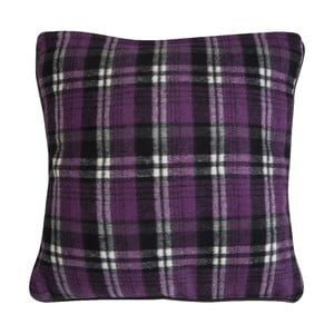 Poduszka Purple Check, 45x45 cm