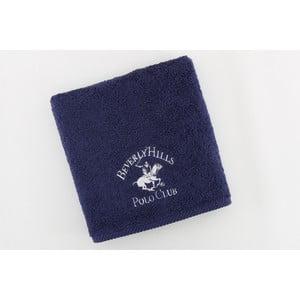 Ręcznik bawełniany BHPC 50x100 cm, granatowy