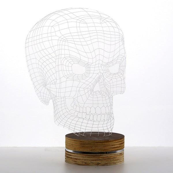 Lampa 3D stołowa Bad Skull