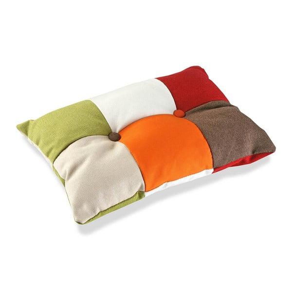 Bawełniana poduszka Versa Red, 50x30 cm