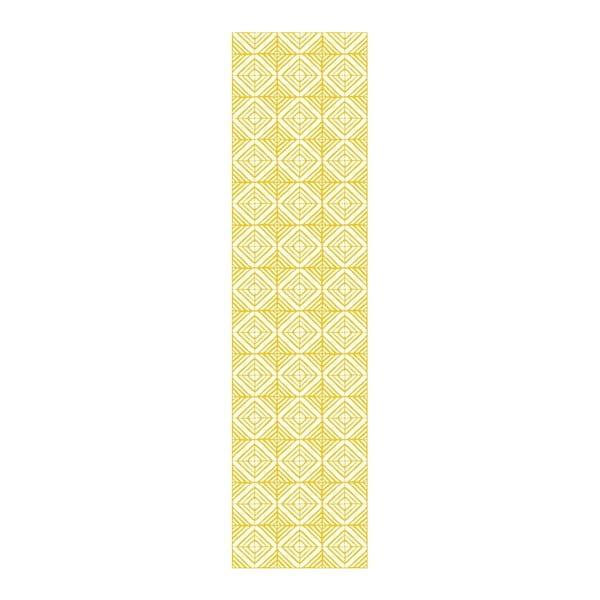 Dywan winylowy Huella Déco Amarelo 280x50 cm