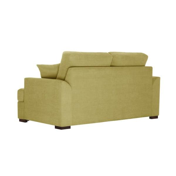 Żółta sofa dwuosobowa Jalouse Maison Irina