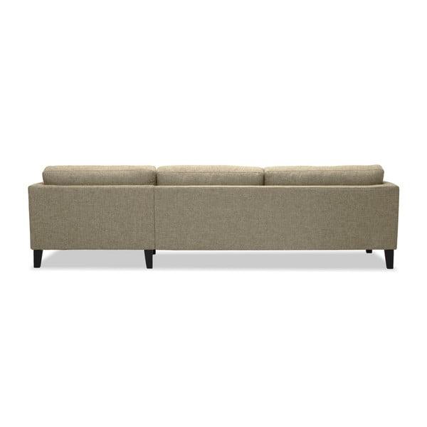 Piaskowa sofa z szezlongiem po prawej stronie Vivonita Monroe