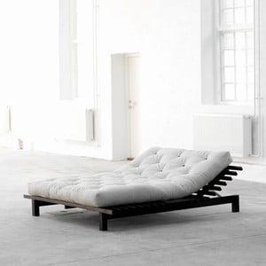Łóżko Karup Blues Wenge, 160x200 cm
