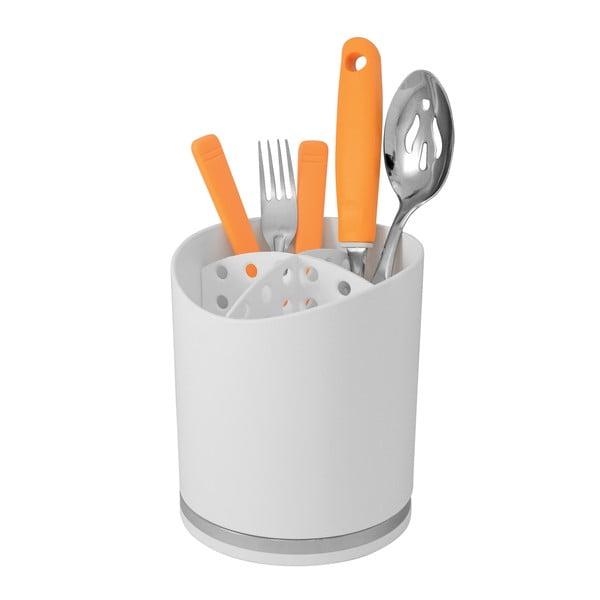 Biały pojemnik na sztućce Future Cutlery