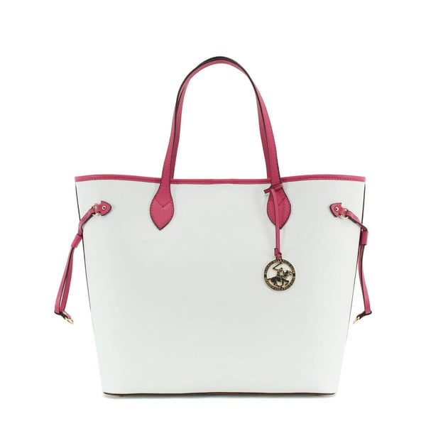 Torebka Beverly Hills Polo Club 444 - White/Fuchsia