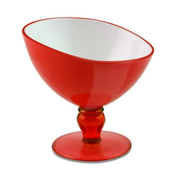 Czerwony pucharek deserowy Vialli Design Livio, 180ml